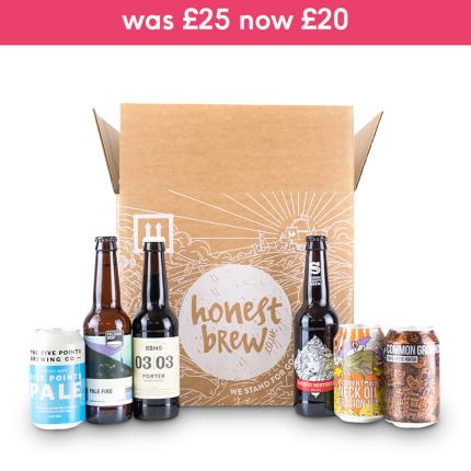 Alcohol Gifts - HonestBrew Best of British Craft Beer Mixed Case - Image 2
