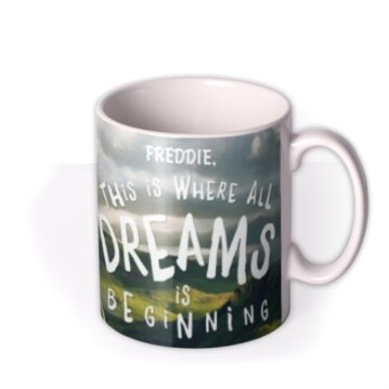 Mugs - Roald Dahl BFG Dreams Personalised Mug - Image 2