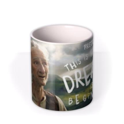 Mugs - Roald Dahl BFG Dreams Personalised Mug - Image 3