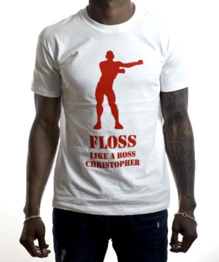 T-Shirts - BirthdayT Shirt - Floss - Floss Like A Boss - Fortnite - Image 2