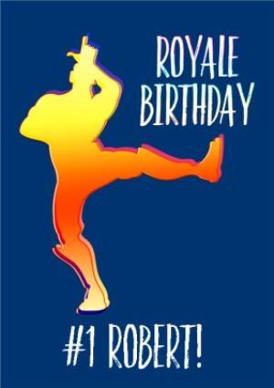 Birthday Card Fortnite Battle Royale Royale Birthday Take