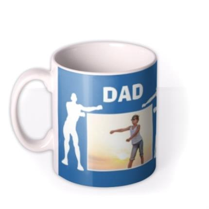 Mugs - Dad I love you more than Fortnite Father's Day photo upload mug - Image 1