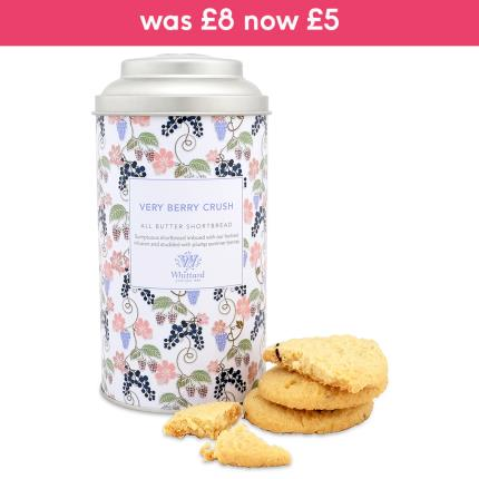 Food Gifts - Whittard of Chelsea Very Berry Crush All Butter Shortbread - Image 1
