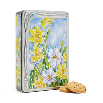 Food Gifts - Daffodil Biscuit Tin - Image 1