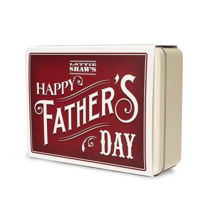 Food Gifts - 'Happy Father's Day' Tin of Treats - Image 3
