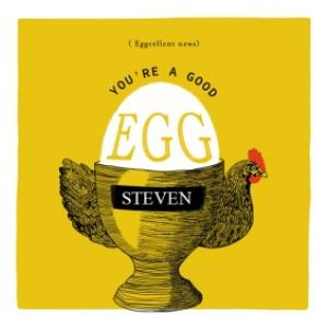 Greeting Cards - Birthday Card - Eggcellent News - Good Egg - Chicken - Image 1