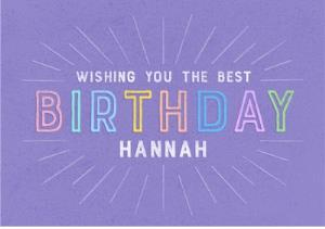 Greeting Cards - Birthday Card - Female Friend  - Image 1