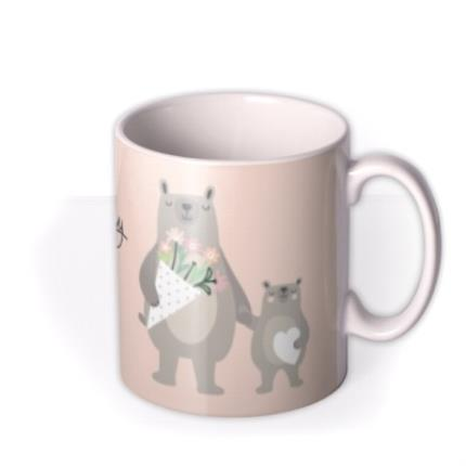 Mugs - Mother's Day Mug - Mum - Mama bear - cute - Image 2