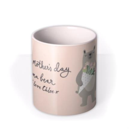 Mugs - Mother's Day Mug - Mum - Mama bear - cute - Image 3