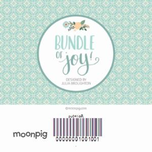 Greeting Cards - Mint Congratulations On Your Special Day Personalised Christening Card - Image 4