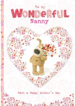 Greeting Cards - Mother's Day Card - Boofle - Wonderful Nanny  - Image 1
