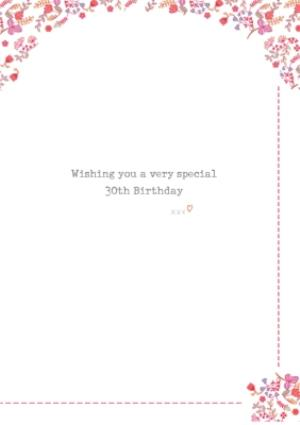 Greeting Cards - Adorable Doggie Happy 30th Birthday Card - Image 3