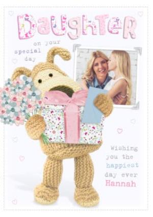 Boofle Happy Birthday To My Beautiful Daughter Card