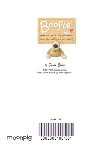Greeting Cards - Boofle Across The Miles Personalised Christmas Card - Image 4