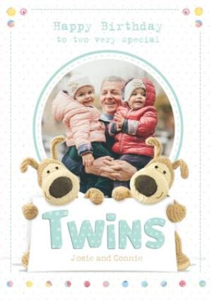 Greeting Cards - Birthday Card - Photo Upload - Twins - Image 1