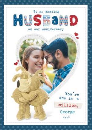 Greeting Cards - Anniversary Card - Photo Upload - Husband - Image 1
