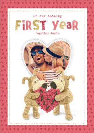 Greeting Cards - Anniversary Card - Photo Upload - First Year - Image 1