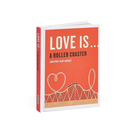 Gadgets & Novelties - Love Is ... A Roller Coaster (And Other Such Sayings) Book - Image 1