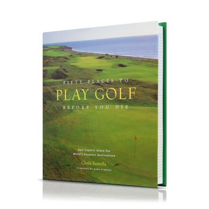 Gadgets & Novelties - Fifty Places to Play Golf Before You Die Book - Image 1