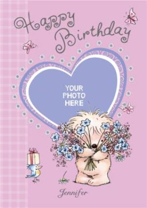 Greeting Cards - Adorable Bear And Friends Happy Birthday Card - Image 1