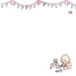 Greeting Cards - A Lovely New Home Characters And Bunting Personalised New Home Card - Image 3