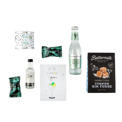 Gift Boxes - Gin Lovers Alcohol Gift Set - Image 2