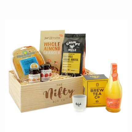 Gift Boxes - Rise and Shine Coffee & Food Gift Box - Image 1