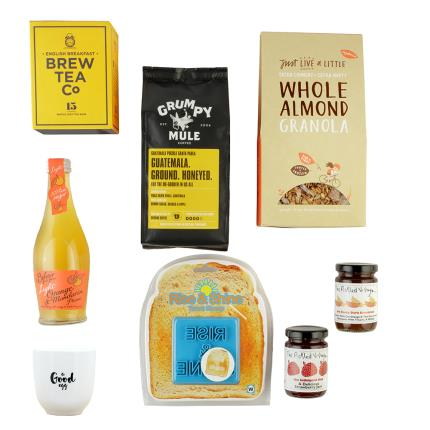 Gift Boxes - Rise and Shine Coffee & Food Gift Box - Image 2