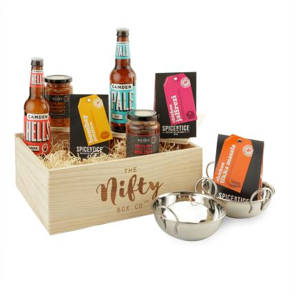 Gift Boxes - Curry Night Beer & Food Gift Box - Image 1
