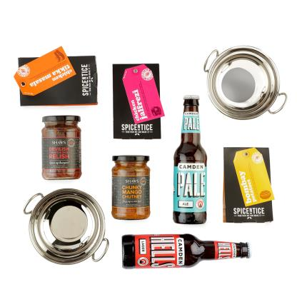 Gift Boxes - Curry Night Beer & Food Gift Box - Image 2