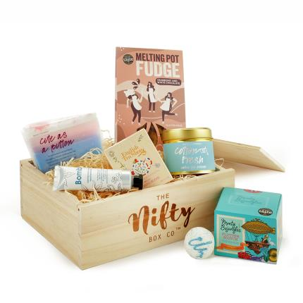 Gift Boxes - Get Pampered Food & Beauty Gift Box - Image 1