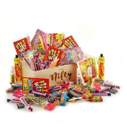Gift Boxes - Retro Sweets Gift Box - Image 1