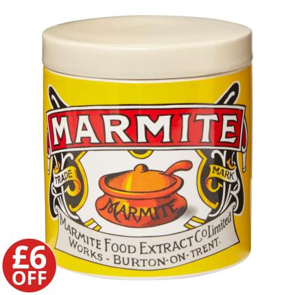 Food Gifts - Marmite Ceramic Storage Jar WAS £12 NOW £6 - Image 1