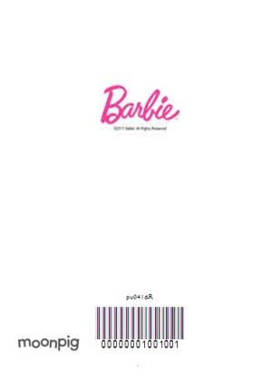 Greeting Cards - Barbie Centre Of Attention Christmas Card - Image 4
