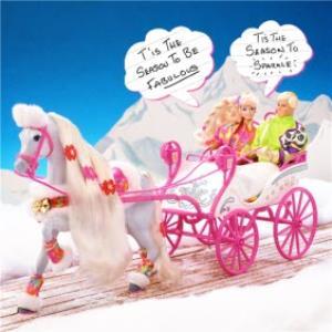 Greeting Cards - Barbie Tis The Season To Be Fabulous Christmas Card - Image 1