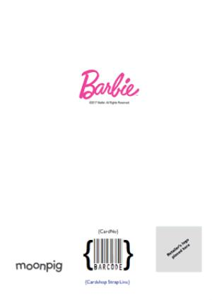 Greeting Cards - Barbie Annual Personalised Birthday Card - Image 4