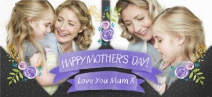 Mugs - Mother's Day Blue Ribbon Photo Upload Mug - Image 4