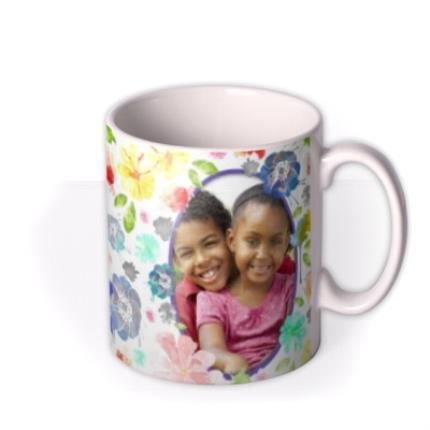 Mugs - Easter Blue Ribbon Photo Upload Mug - Image 2