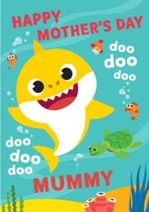 Greeting Cards - Baby Shark Song Mother's Day Card  - Image 1