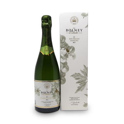 Alcohol Gifts - The Bolney Estate Kew English Sparkling 75cl Brut Gift Box - Image 1
