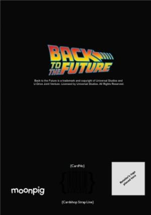 Greeting Cards - Back to the Future birthday card - De Lorean - Image 4
