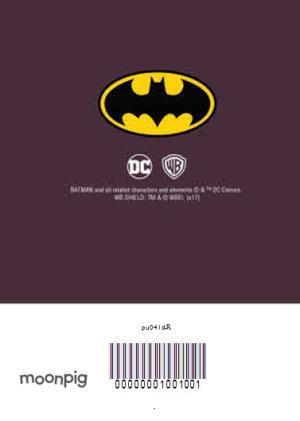 batman birthday party invitation moonpig