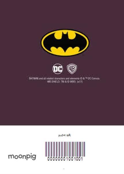 Greeting Cards - Batman Birthday Party Invitation - Image 4