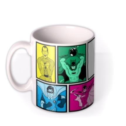 Mugs - Batman Classic Colour Pop Photo Upload Mug - Image 1
