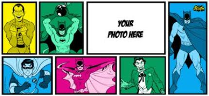 Mugs - Batman Classic Colour Pop Photo Upload Mug - Image 4
