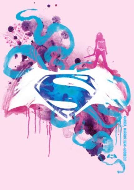 T-Shirts - Superman Pink Personalised T-shirt - Image 4