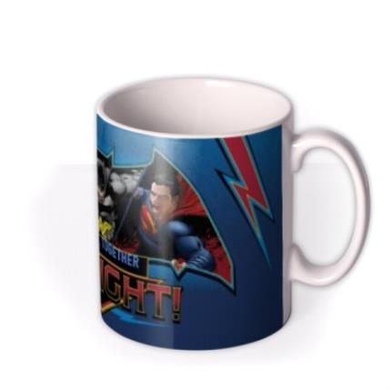 Mugs - Batman Vs Superman Fight Personalised Mug - Image 2
