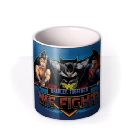 Mugs - Batman Vs Superman Fight Personalised Mug - Image 3