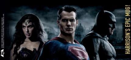 Mugs - Batman Vs Superman Trio Personalised Mug - Image 4