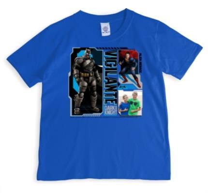 T-Shirts - Batman Vigilante Photo Upload T-Shirt - Image 1